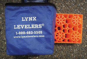 RV essentials- levellers, hoses, adapters, cleaners, chemicals,
