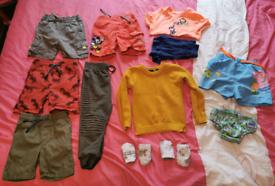 Boys 1.5-2years Bundle - 13 items