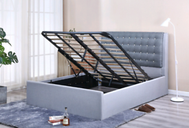 Premium quality king ottoman bedframe on clearance sale