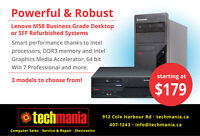 Business Grade Refurb Laptops & PCs from $179