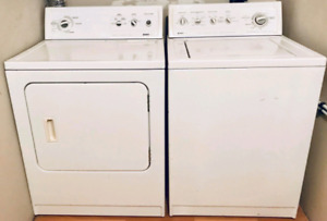 Kenmore: Heavy duty + Super capacity, Washer/Dryer