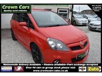Vauxhall Zafira 2.0i 16v Turbo VXR RED 7 SEATER 2006 MODEL +HIGH PERFORMANCE+