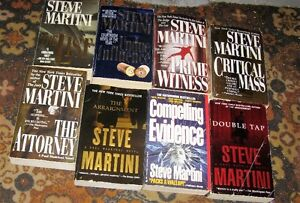Lot of Steve Martini books $5