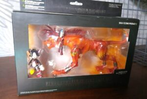 Final Fantasy 7 Play Arts Red XIII and Cait Sith