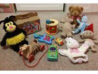 Bundle of children's toys (boy or girl)