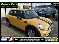 MINI 1,4 ONE YELLOW 3 DOOR 2008 MODEL +STUNNING EXAMPLE+