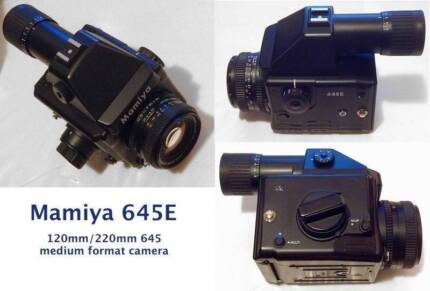 Mamiya 645E medium format camera + 80/2.8 N lens *AS NEW* Sydney City Inner Sydney Preview