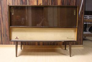 Vintage Normende Mikado Stereo Floor Console Radio/Phonograph
