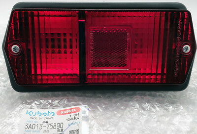 New Genuine Kubota Tractor Tail Light For M 4700 M 5400sd M 6800 Dt 3a013-75890
