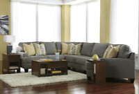 BRAND NEW  ASHLEY CHAMBERLY - ALLOY 4 PIECE SECTIONAL