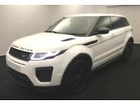 2015 WHITE RANGE ROVER EVOQUE 2.0 TD4 180 HSE DYNAMIC 4WD CAR FINANCE FR £117 PW