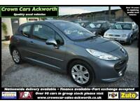 Peugeot 207 1.6HDI TURBO DIESEL110 Sport GRAY 2009 MODEL +BEAUTIFUL+