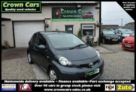 Toyota AYGO 1.0 VVT-i 3 DOOR BLACK AYGO GO+ BEAUTIFUL