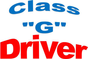 "Class ""G"" Driver – Full Time Work with Benefits!"