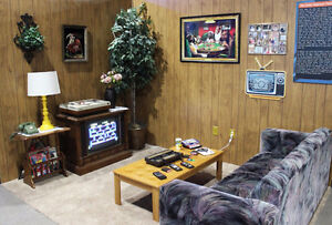 WANTED: 80's Furniture - Couhces, chairs, TV, VCR, rugs, etc.