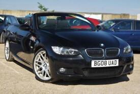 2008 BMW 3 SERIES 3.0 PETROL 325I M SPORT AUTOMATIC 215 BHP FULL BMW HISTORY