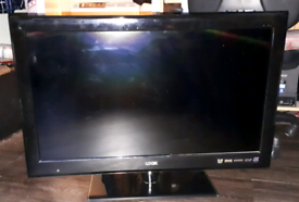 """Logik 32"""" 3d tv,ps3 and speakers"""