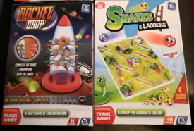 Board games, brand new, snakes and ladders, rocket drop