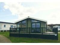 Luxury Lodge with stunning views of North East coast 12 month site pet friendly