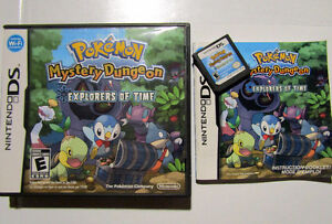 Pokemon Blue mystery dungeon for Nintendo DS