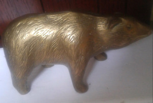 Old Brass Bear