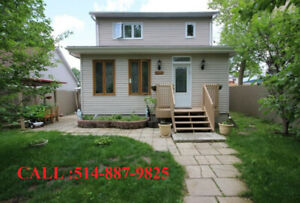 5 ½ Maison à louer à Laval 1,500$ ★ 5 1/2 House for rent ★