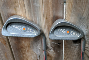Ping eye 2 orange dot iron set - 2 to SW