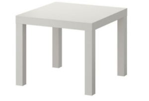 2 Grey IKEA Lack tables in great condition