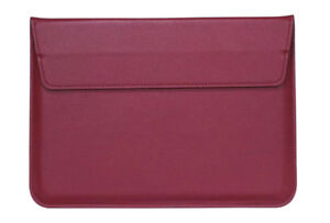 Laptop Sleeve - Wine Red colour