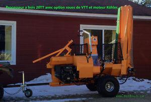 Processeur de bois de chauffage  20 tonne avec moteur Kohler Saint-Hyacinthe Québec image 8