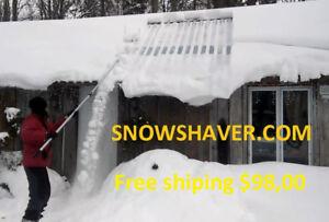 Pelle a neige pour toiture