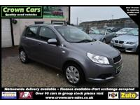 Chevrolet Aveo 1.2 LS 5 DOOR GREY 2010 +OUTSTANDING VALUE+