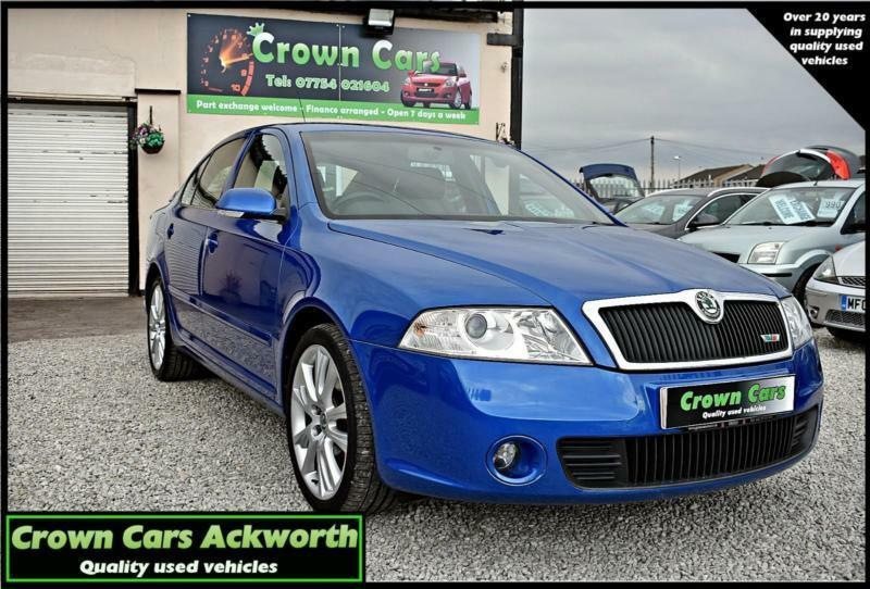 Skoda Octavia 2 0TDI PD ( 170bhp ) vRS BLUE 2008 MODEL +STUNNING EXAMPLE+ |  in Ackworth, West Yorkshire | Gumtree
