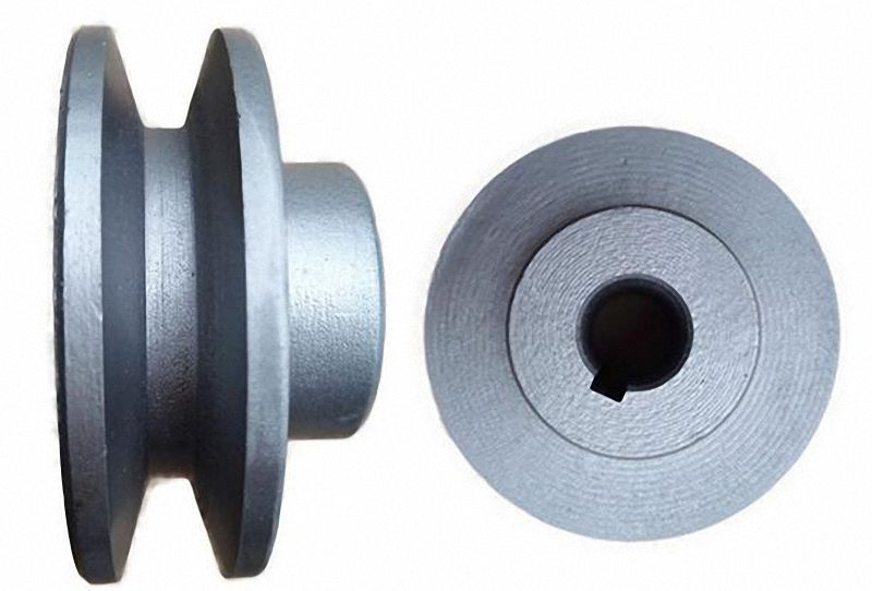 """OD 40 to 100mm V-Groove Pulley for 3/8"""" = 9.525mm Belt width - Select Size"""
