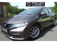 2012 62 HONDA CIVIC 1.3 I-VTEC SE 5DR - LOW MILES - 5 SERVICES - HIGH SPEC