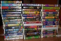 VHS - Disney & Misc Family - $2 Each or 2 for $3 - $20 for all
