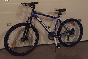 CCM mountain bike, disc brakes