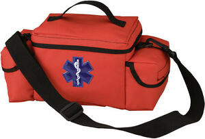 Orange E.M.S. / First Aid Rescue Bag- POLICE SECURITY CAMPING