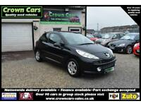 Peugeot 207 1.4 SPORT BLACK 3 DOOR 2009 MODEL +BEAUTIFUL+