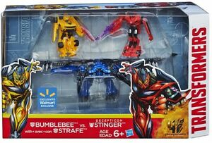 Transformers 4 AOE Bumblebee VS Stinger w/ Strafe Walmart EXCLUS