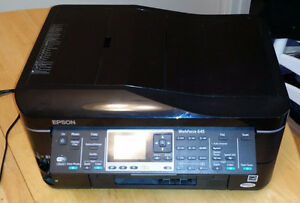 Epson WorkForce 645 Inkjet Printer - $100