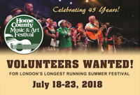 Volunteer at Home County 2018!