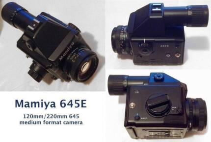 Mamiya 645E medium format camera + 80/2.8 N lens *AS NEW* Sydney City Inner Sydney Preview