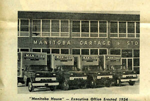 Looking for old Manitoba Cartage trucks