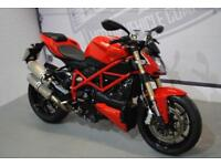 2012 DUCATI STREETFIGHTER 848, IMMACULATE CONDITION, £7,200 OR FLEXIBLE FINANCE