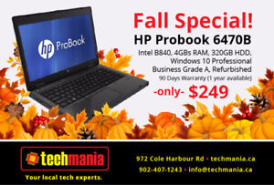 Many models to choose from, dekstops and laptops from $199