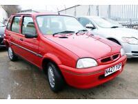 1996 N Rover 114 1.4 SLi 5 Door Genuine 38,448miles 1 Owner+ Supplying Dealer