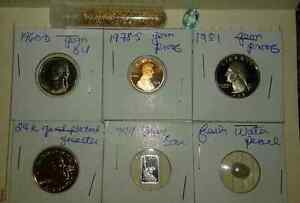 Proof Coins silver and other Gems ! from 1960-2007