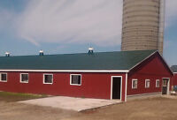 Barn Painting Service - 50 years Helping Farmers