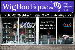 Wig Boutique offers a Mobile Service